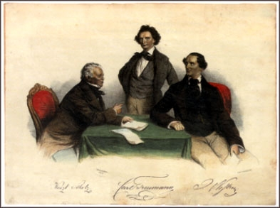 Scholz, Treumann, Nestroy